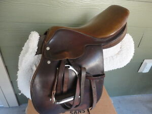 "Used 14"" Croswell Close Contact Leather Saddle-was $1,100.00"