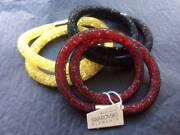 3 x SWAROVSKI  Mesh  Double  Wrap  Bracelets - $35 Each Ferryden Park Port Adelaide Area Preview