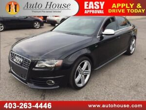 2011 AUDI S4 QUATTRO  ALL WHEEL DRIVE