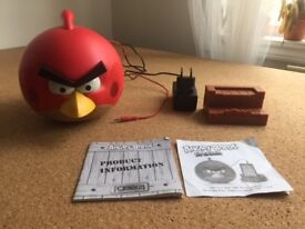 Gear4 ANGRY BIRDS Finish Speaker with Stand for iPhone / iPad, Red (PG542G)