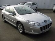 2009 Peugeot 407 Series II SR HDI Silver 6 Speed Sports Automatic Sedan Enfield Port Adelaide Area Preview