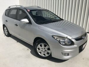 2011 Hyundai i30 FD MY11 SX cw Wagon Silver 5 Speed Manual Wagon Mundingburra Townsville City Preview