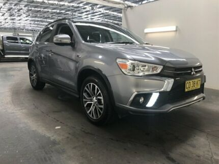2017 Mitsubishi ASX XC MY18 LS (2WD) Grey Continuous Variable Wagon Beresfield Newcastle Area Preview
