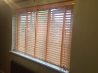 Wooden Venetian Blind 50mm slats with tapes