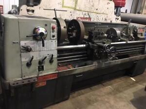 (USED) LATHE / COLCHESTER 17 x 80