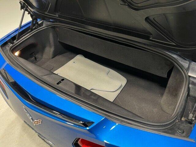 2014 Blue Chevrolet Corvette Convertible 3LT | C7 Corvette Photo 8