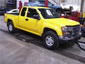 2005 GMC Canyon SLE Z85  Engine has 120000 kms