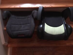 for sale 2 child's booster chairs for vehicle
