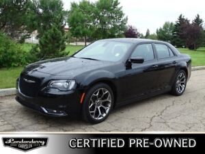 2018 Chrysler 300 S Leather,  Heated Seats,  Back-up Cam,  Bluet