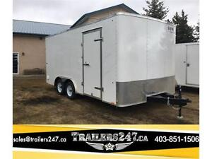-*-*New 8.5ft x 16ft Tandem Axle Cargo Trailer by Look Trailers*