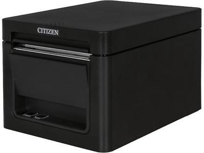 Citizen Ct-e351 Compact Thermal Pos Printer Front Exit Serial Usb Black - Ct