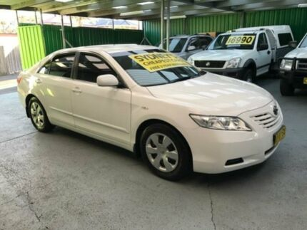 2006 Toyota Camry ACV40R Altise White 5 Speed Automatic Sedan Five Dock Canada Bay Area Preview