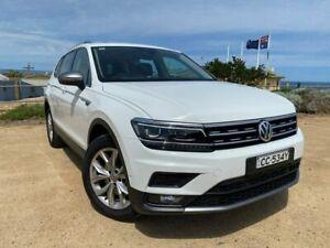 2018 Volkswagen Tiguan 5N MY19 132TSI Comfortline DSG 4MOTION Allspace White 7 Speed Christies Beach Morphett Vale Area Preview