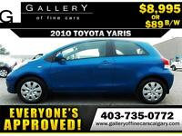 2010 Toyota Yaris CE $89 bi-weekly APPLY TODAY DRIVE TODAY