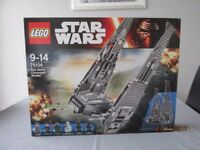 lego 75104 kylo ren's command shuttle new sealed