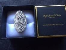 SWAROVSKI Crystals - 5th Ave Collection - The Sparkler - Ring  Dr Ferryden Park Port Adelaide Area Preview