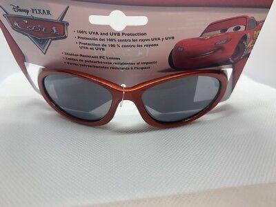NWT Boys Kids DISNEY PIXAR CARS Sunglasses Lightning McQueen Red teal  03 - Lightning Mcqueen Sunglasses