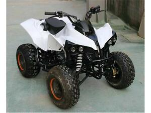 T4B Youth Kids ATV Quad Four Wheeler 125cc Rebel Remote Stop