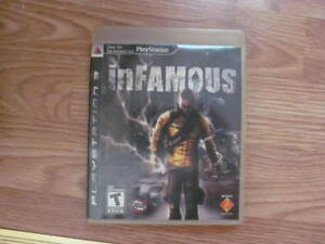 PS3 Game INFAMOUS