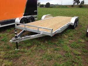 Stealth 7x16 Aluminum open Car Hauler