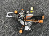 EVOLUTION R210SMS 210MM SINGLE-BEVEL SLIDING COMPOUND MITRE SAW 230V