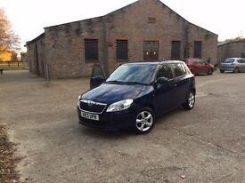 2013 Skoda Fabia new shape with white interior 21k only