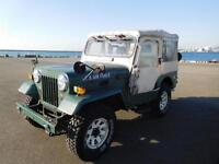 MITSUBISHI JEEP J55 WILLYS DIESEL MILITARY ON & OFF ROAD 4X4 SOFT TOP LOW MILES