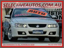 2005 Holden Commodore VZ MY05 Lumina White 4 Speed Automatic Wagon Homebush Strathfield Area Preview