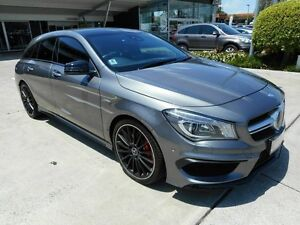 2015 Mercedes-Benz CLA45 X117 AMG Shooting Brake SPEEDSHIFT DCT 4MATIC Grey 7 Speed Yamanto Ipswich City Preview