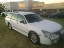 2004 Mitsubishi Magna TL MY04 White Automatic Wagon Wangara Wanneroo Area Preview