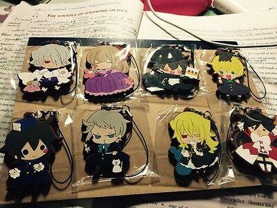 Japan Anime Fate Apocrypha E-G 一番くじKeychain Rubber Strap Keyring Phone Charm