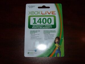 NEW XBOX LIVE CARD $19.99 FOR $15.00 London Ontario image 1