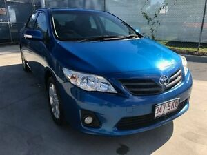 2012 Toyota Corolla ZRE152R MY11 Ascent Sport Blue 4 Speed Automatic Sedan Maryborough Fraser Coast Preview