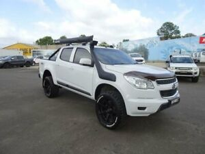 2014 Holden Colorado RG MY15 LS Crew Cab White 6 Speed Sports Automatic Utility Nowra Nowra-Bomaderry Preview