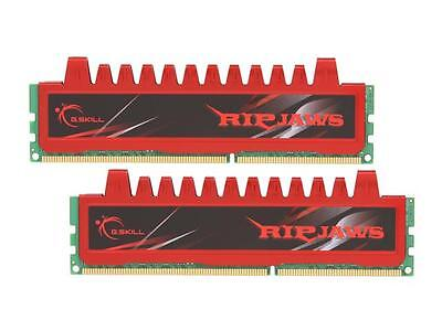 G.SKILL Ripjaws Series 8GB (2 x 4GB) 240-Pin DDR3 SDRAM DDR3 1333 (PC3 10666) De
