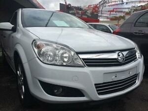 2008 Holden Astra AH MY08.5 60th Anniversary White 4 Speed Automatic Hatchback Braddon North Canberra Preview