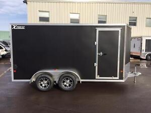 NEW 2017 XPRESS 7' x 14' ALUMINUM TRAILER w/ STOWABLE RAMPS