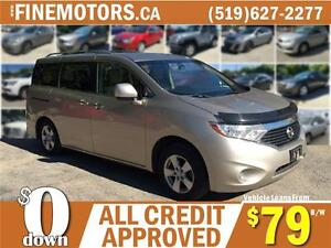 2011 NISSAN QUEST * KEYLESS START * 7 PASSENGER * 4 CAPTAINS