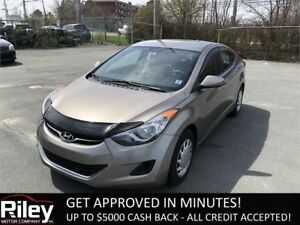 2012 Hyundai Elantra GL STARTING AT $118.53 BI-WEEKLY