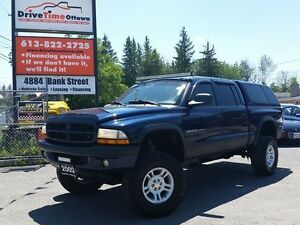 "2002 Dodge Dakota QUAD CAB SPORT 4X4 ""LIFTED"""
