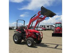New TYM T354 - 35 HP Ranch Tractor w. ROPS & Front Loader Edmonton Edmonton Area image 5