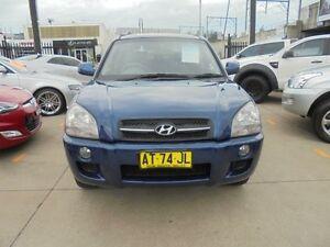 2007 Hyundai Tucson MY07 City Elite Blue 4 Speed Automatic Wagon Holroyd Parramatta Area Preview