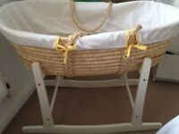 Stand and Moses basket