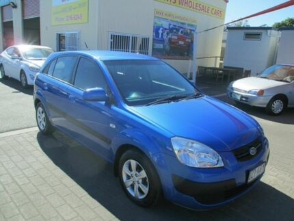2008 Kia Rio JB LX Blue 5 Speed Manual Hatchback Coopers Plains Brisbane South West Preview