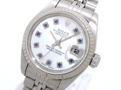 Auth ROLEX Datejust 79174NGS Silver Women