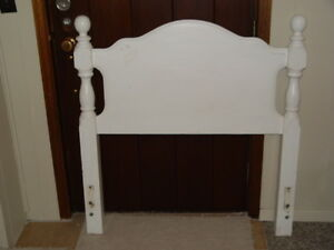 single bed head board solid wood