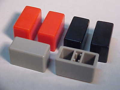 Vintage Rca Test Equipment Switch Caps Covers