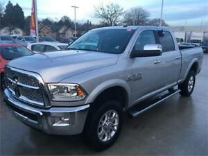 2017 Ram 3500 Laramie 4x4 short box just 24.000 km silver DIESEL