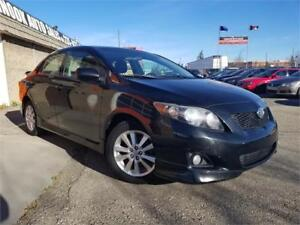 2010 Toyota Corolla S,Leather, S.Roof, A/C