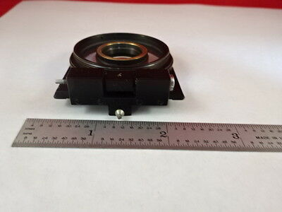 Microscope Part Zeiss Polarizer Objective Holder Pol Optics As Is X6-b-15